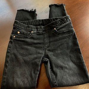 H&M faded black skinny jeans